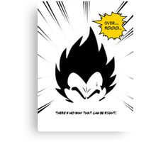 IT'S OVER 9000!  Canvas Print