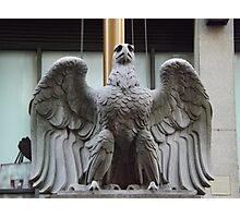 Original Pennsylvania Station Eagle Sculpture, Penn Station, New York City Photographic Print