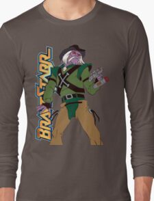 BraveStarr - Tex Hex - Color Long Sleeve T-Shirt