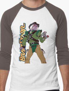 BraveStarr - Tex Hex - Color Men's Baseball ¾ T-Shirt