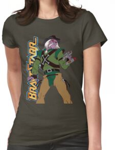 BraveStarr - Tex Hex - Color Womens Fitted T-Shirt