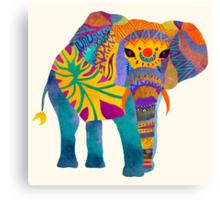 Whimsical Elephant Canvas Print