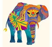 Whimsical Elephant Photographic Print