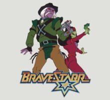BraveStarr - Tex Hex and Vipra - Color by DGArt