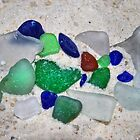Lake Erie Beach Glass by Sheri Nye