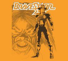 BraveStarr - Tex Hex and Marshall BraveStarr - Black Line Art by DGArt
