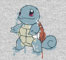 Squirtle Painted  Kids Clothes