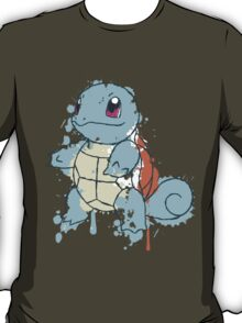 Squirtle Painted  T-Shirt