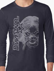 BraveStarr - Tex Hex # 2- White Line Art Long Sleeve T-Shirt