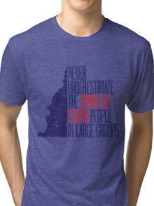 Stupid People Tri-blend T-Shirt