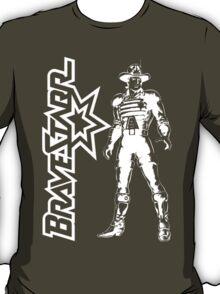 BraveStarr - Marshall BraveStarr - White Line Art T-Shirt