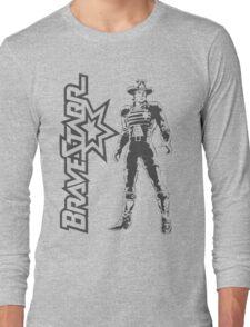 BraveStarr - Marshall BraveStarr - Black Line Art Long Sleeve T-Shirt