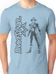 BraveStarr - Marshall BraveStarr - Black Line Art Unisex T-Shirt