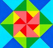 28 TRIANGLES by RainbowArt