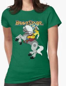 BraveStarr - Thirty Thirty and BraveStarr  - Color Womens Fitted T-Shirt