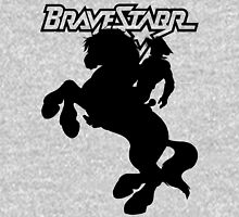 BraveStarr - Thirty Thirty and BraveStarr  - Solid Black - Shadow Art Unisex T-Shirt