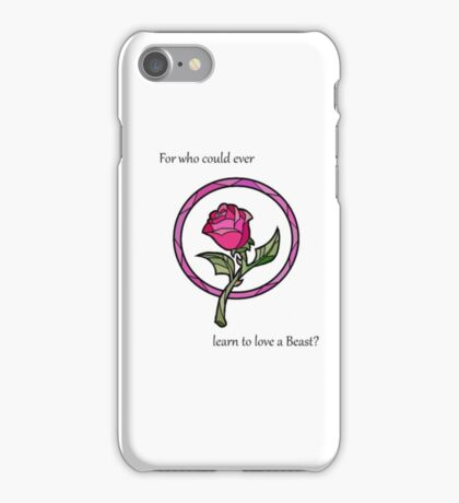 Who could ever learn... iPhone Case/Skin