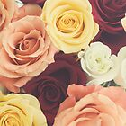 Vintage Roses by Libertad  Leal