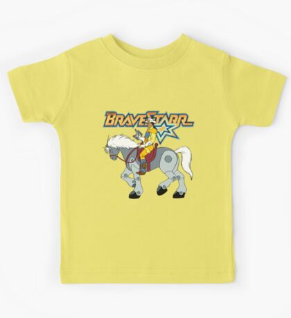 BraveStarr - Thirty Thirty and BraveStarr #2  - Color Kids Tee