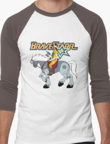 BraveStarr - Thirty Thirty and BraveStarr #2  - Color Men's Baseball ¾ T-Shirt