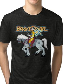 BraveStarr - Thirty Thirty and BraveStarr #2  - Color Tri-blend T-Shirt