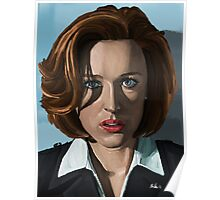 Gillian Anderson Poster