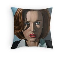 Gillian Anderson Throw Pillow