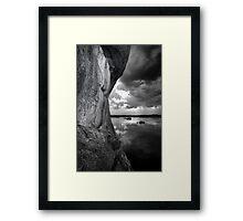 One Sided BW Framed Print