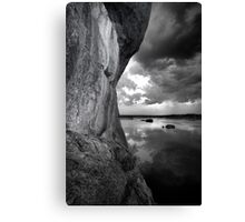 One Sided BW Canvas Print