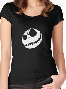 This is Halloween (White) Women's Fitted Scoop T-Shirt