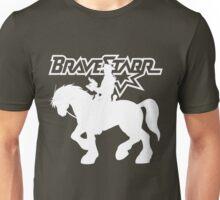 BraveStarr - Thirty Thirty and BraveStarr #2  - Solid White - Shadow Art Unisex T-Shirt