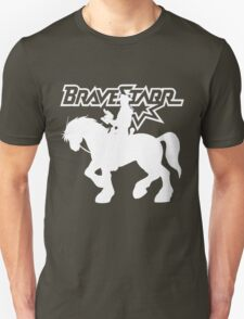BraveStarr - Thirty Thirty and BraveStarr #2  - Solid White - Shadow Art T-Shirt