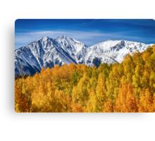 Colorado Rocky Mountain Autumn Magic Canvas Print