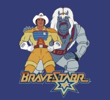 BraveStarr - Thirty Thirty and BraveStarr #3  - Color by DGArt