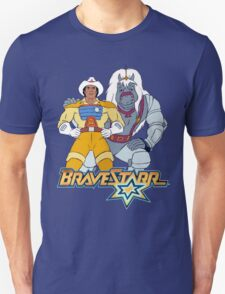 BraveStarr - Thirty Thirty and BraveStarr #3  - Color T-Shirt