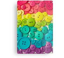 Buttons Metal Print