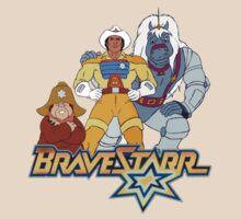 BraveStarr - Thirty Thirty, Fuzz and BraveStarr - Color by DGArt