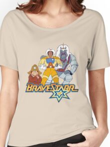 BraveStarr - Thirty Thirty, Fuzz and BraveStarr - Color Women's Relaxed Fit T-Shirt
