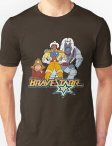 BraveStarr - Thirty Thirty, Fuzz and BraveStarr - Color T-Shirt