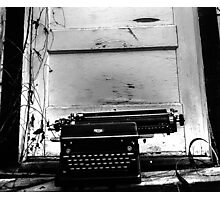The Writer  Photographic Print