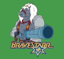 BraveStarr - Thirty Thirty and Sara Jane - Color Baby Tee