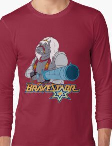 BraveStarr - Thirty Thirty and Sara Jane - Color Long Sleeve T-Shirt