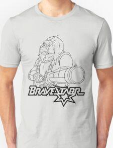 BraveStarr - Thirty Thirty and Sara Jane - Black Line Art T-Shirt