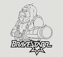 BraveStarr - Thirty Thirty and Sara Jane - Black Line Art Unisex T-Shirt