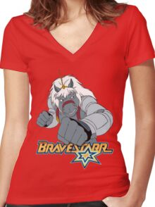 BraveStarr - Thirty Thirty - Color Women's Fitted V-Neck T-Shirt