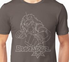 BraveStarr - Thirty Thirty - White Line Art Unisex T-Shirt