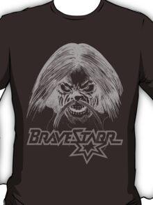 BraveStarr - Tex Hex # 3 - White Line Art T-Shirt