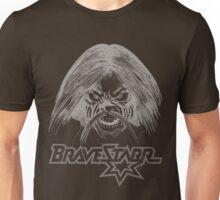 BraveStarr - Tex Hex # 3 - White Line Art Unisex T-Shirt