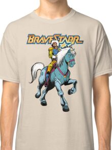 BraveStarr - Thirty Thirty and BraveStarr #4  - Color Classic T-Shirt