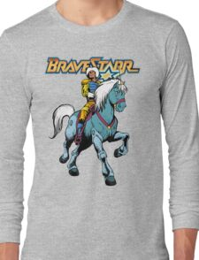 BraveStarr - Thirty Thirty and BraveStarr #4  - Color Long Sleeve T-Shirt